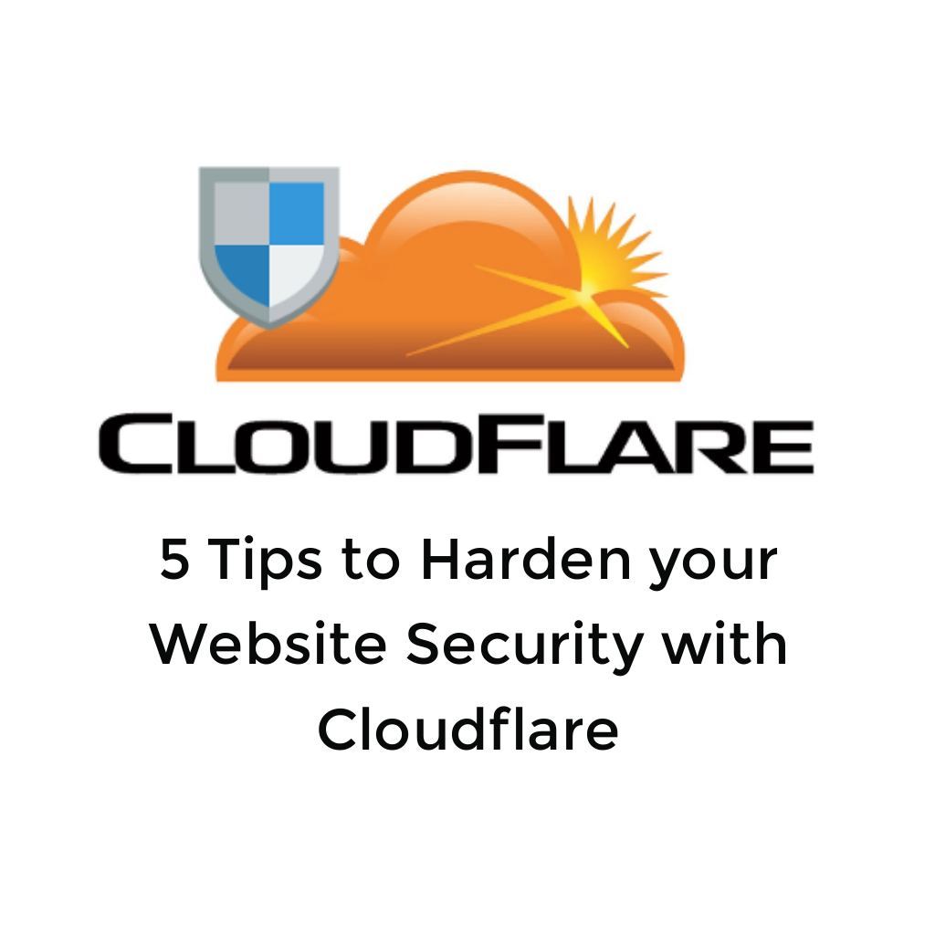 Harden your Website Security with Cloudflare